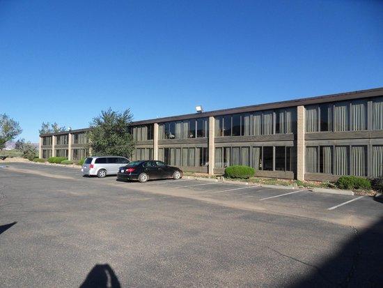 Kayenta Monument Valley Inn Hotel Von Außen Hintere Seite