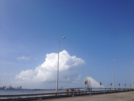 Bandra-Worli Sea Link: Enjoyed the engendering marvel !