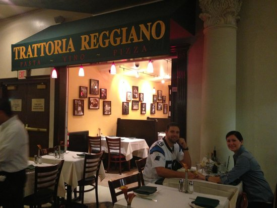 Trattoria Reggiano: dinner with my husband