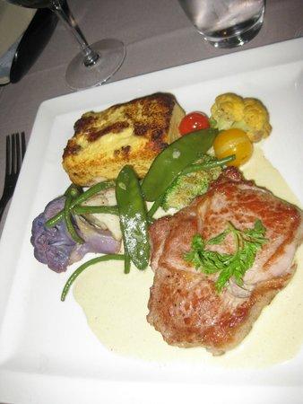 L'Arsenal : Veal and polenta