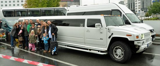 Prague Airport Transfers : We rented a Hummer Limosine - You should try it :-)
