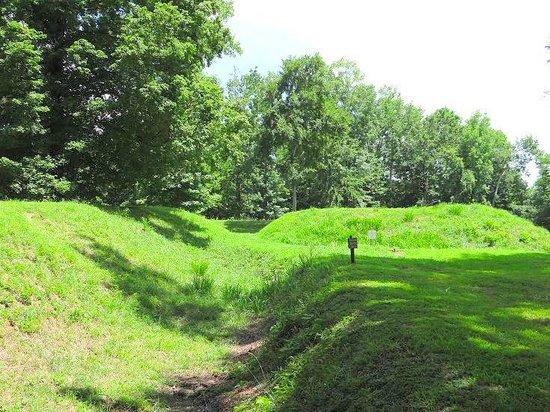 Randolph, Βιρτζίνια: earthen fort