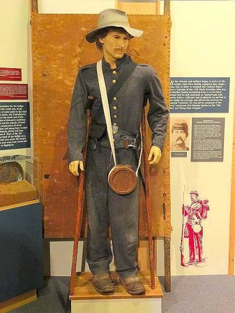 Randolph, Βιρτζίνια: visitors center museum