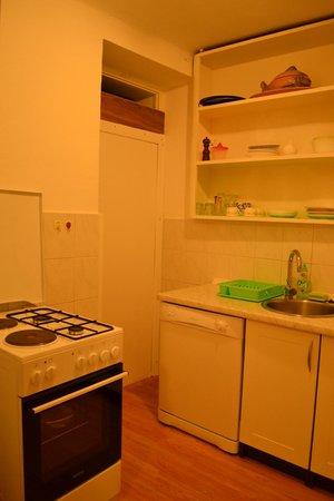 Apartments Nikolla: Our kitchen area