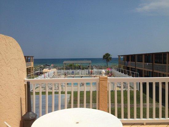 Buccaneer Inn : View from balcony of one-bedroom suite
