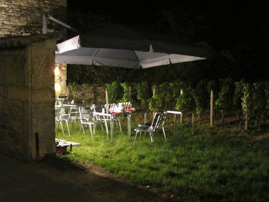 L'O des Vignes : La table dans les vignes !