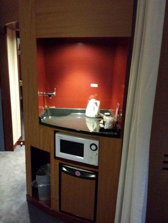 Suite Novotel Geneve : angolo bar