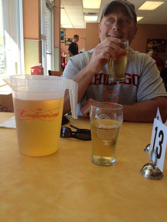 Cassano's Pizza King: $6.00 pitcher of beer and Famous Fro