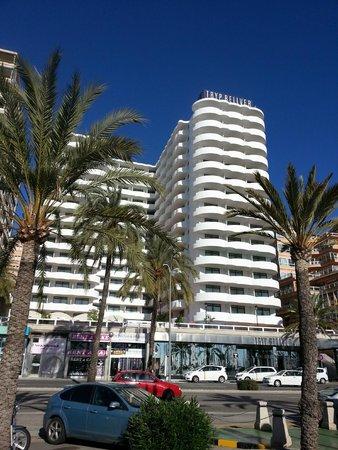 Hotel Palma Bellver managed By Meliá: Févr. 2014 - l'hôtel - imposant