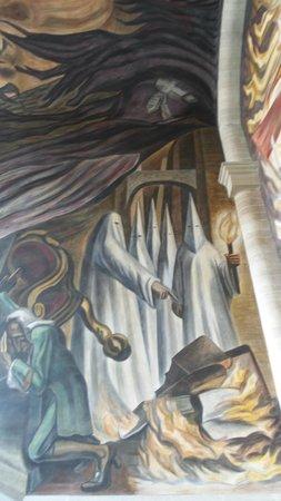 Alhondiga de Granaditas : Sample of murals