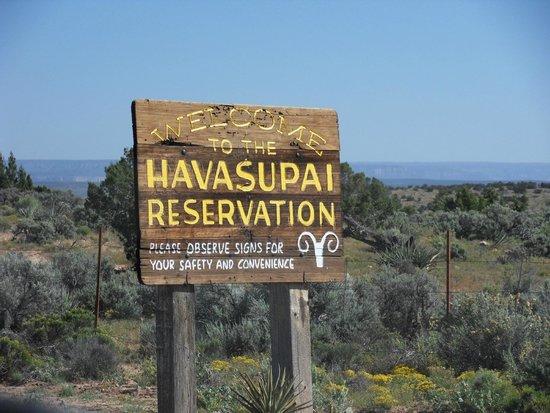 Havasupai Lodge: Eingang zum Havasupai Canyon