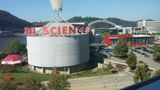 Carnegie Science Center: View from Heinz Field!