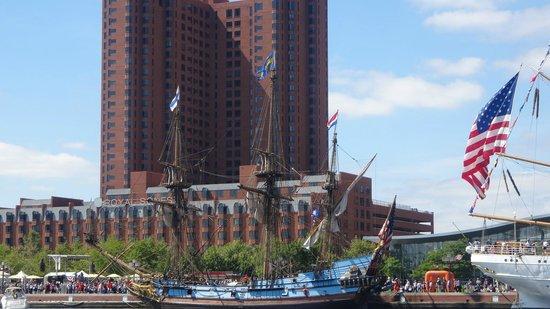 Royal Sonesta Harbor Court Baltimore : Great views of the Harbor