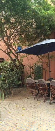 Riad Imourane : Dining