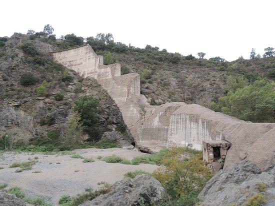 Site de Malpasset : barrage de malpasset
