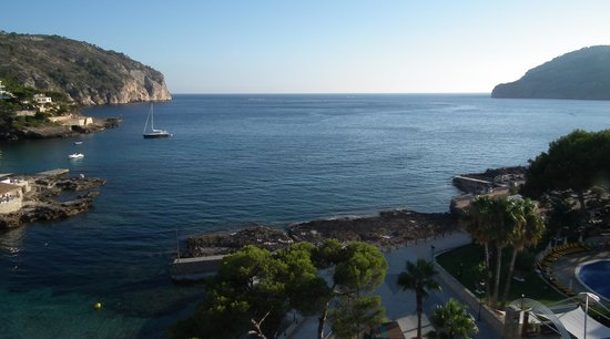 Grupotel Playa Camp de Mar: View from balcony of 5th floor room with sea view