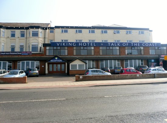 Viking Hotel: Hotel front view.