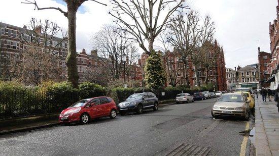 BEST WESTERN Burns Hotel Kensington: view from hotel