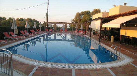 Vagia Mare Hotel : Pool area