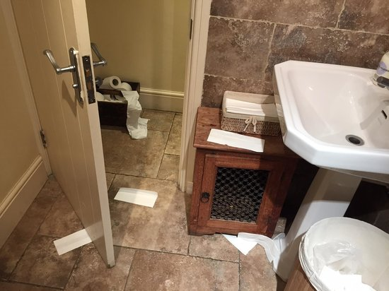 The Kingham Plough Restaurant: Toilet at Kingham Plough