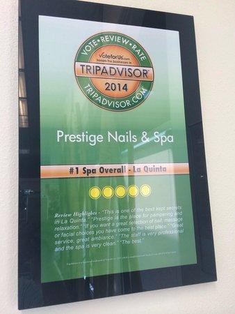 Prestige Nails & Spa: Voted #1 Nails&Spa in La quinta.