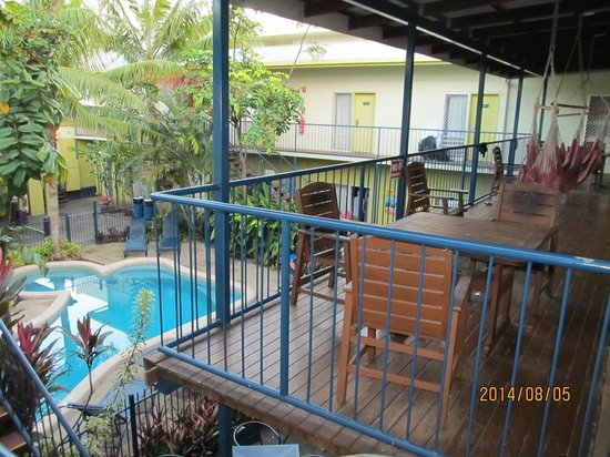 Cairns Central YHA Backpackers Hostel: 2Fからの眺め