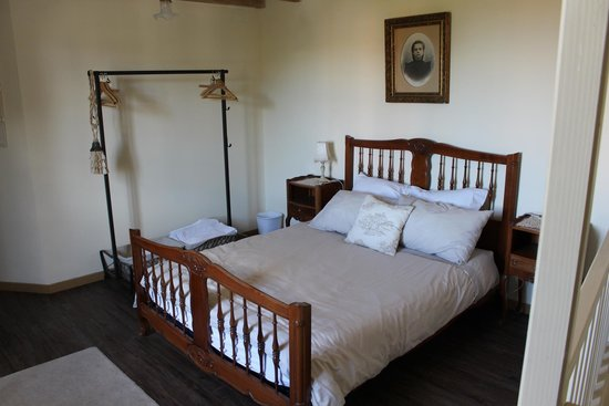 Alaigne, Frankrijk: The bedroom of the smaller gite