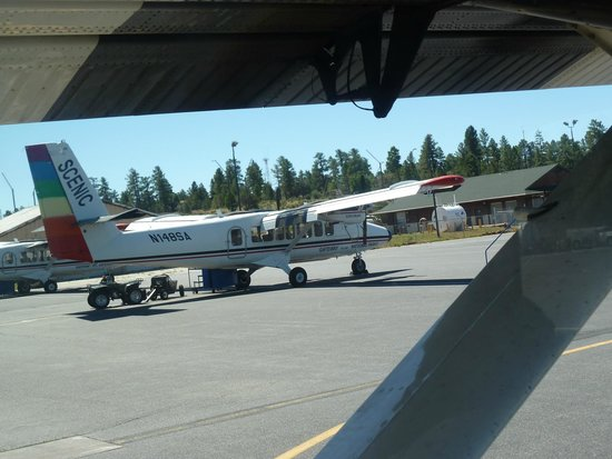 One of the Scenic Airlines planes