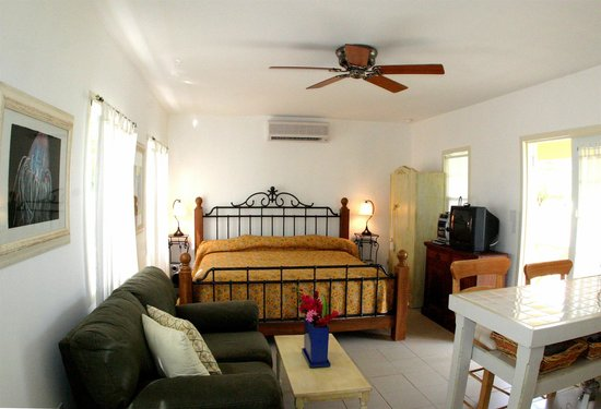 Antigua's Yepton Estate Cottages: Studio Cottage - View of King Bed