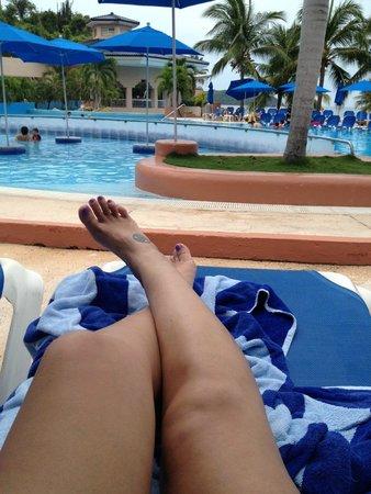 Azul Ixtapa Beach Resort & Convention Center: Chapoteadero