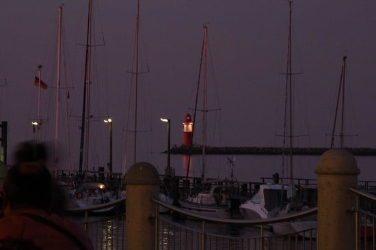 GOSCH Atlantic Restaurant: Blick auf dem Strom