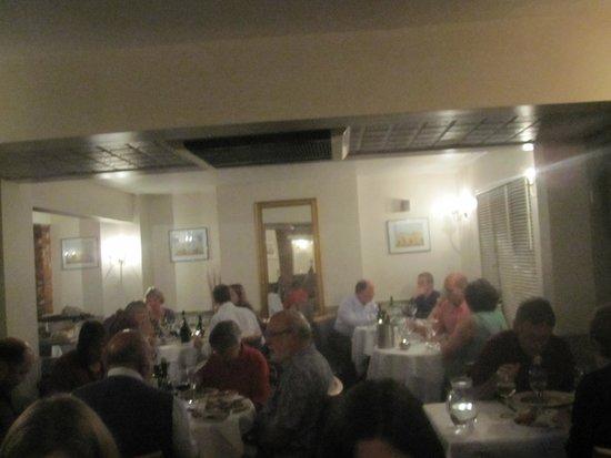 Sasso: The restaurant
