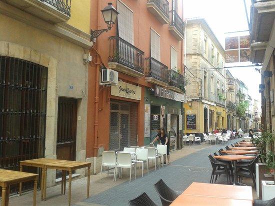 Hostal Loreto: Calle Loreto