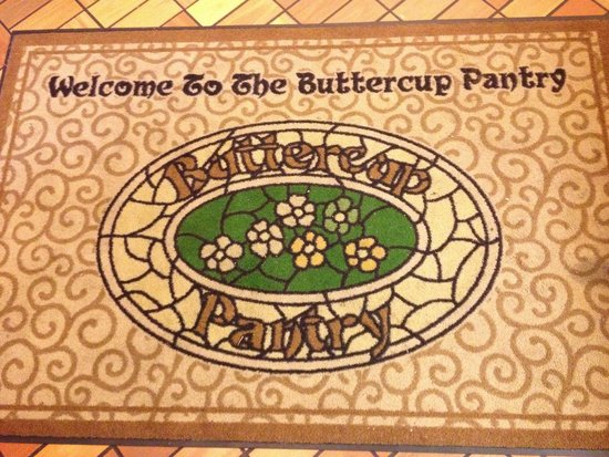 Buttercup Pantry: Welcome mat