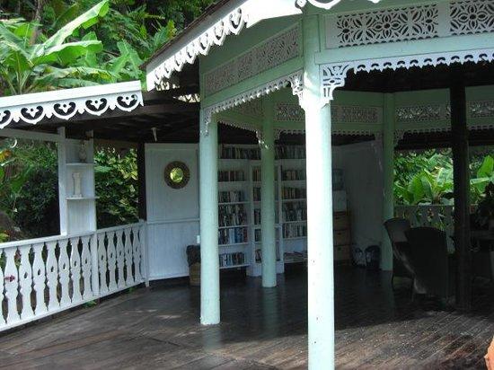 Fond Doux Plantation & Resort: The Library