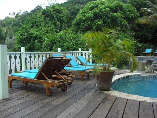 Fond Doux Plantation & Resort: The Main Pool Area