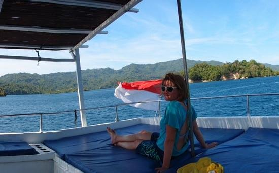 Eco Divers Resort Lembeh: on the nautica between dives