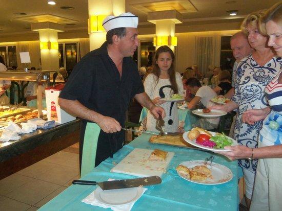 Sumus Hotel Monteplaya: excellent food