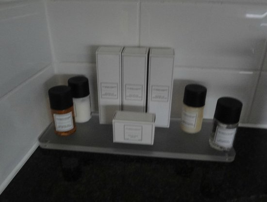 Royal Station Hotel : Great selection of toiletries