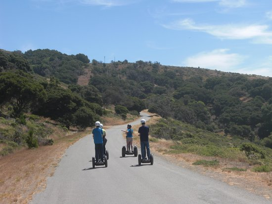 San Francisco, CA: Two-wheeling It on Angel Island