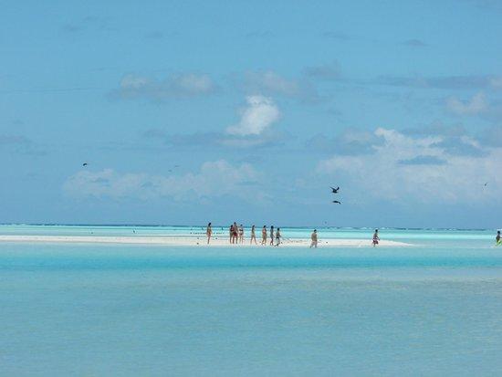 Escapade Charter Tahiti, Day tours : Banc de sable à Tetiaroa