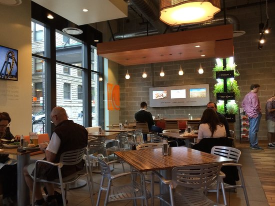 Reasonable Place For Healthy Breakfast Review Of Lyfe Kitchen Chicago Il Tripadvisor
