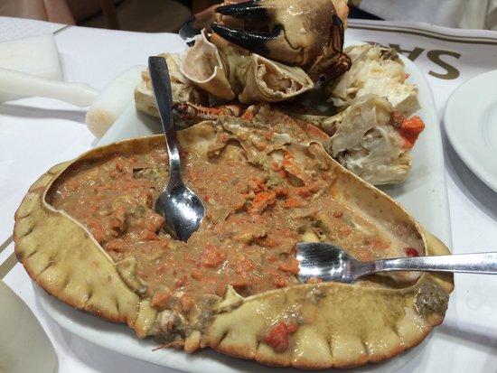 Cervejaria Ramiro: Crab