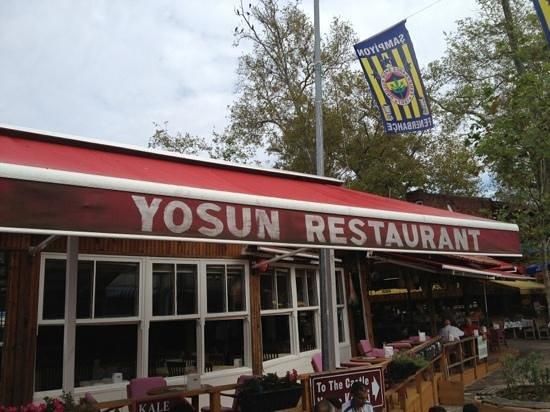 Anadolu Kavagi: Yosun Restaurant