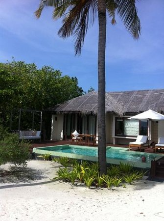 Zitahli Resorts & Spa Maldives Dholhiyadhoo: die villa mit pool