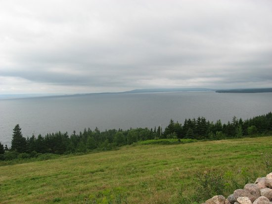 Bras d'Or  Lake : Bras d'Or Lake looking southwest from Highland Village, Iona, NS