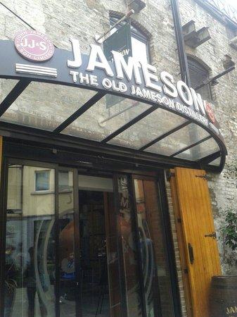 Parliament Hotel: Jameson distillery