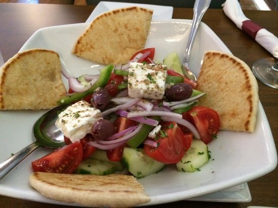 Katerina's Greek Cuisine: Village Salad