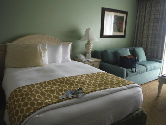 Hilton Grand Vacations at SeaWorld : Studio with queen bed and pull out sofa