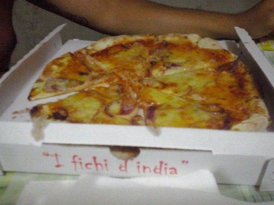 I Fichi d'India: pizza tropeana